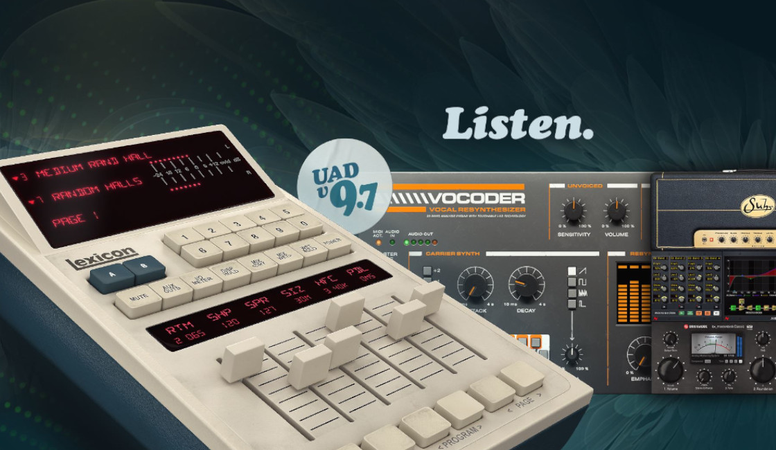 Universal Audio Introduces UAD Software v9.7