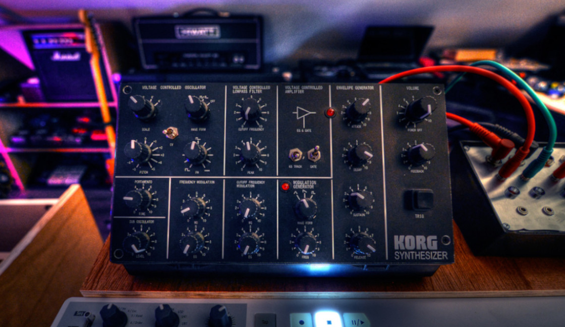 MS-X Analogue Synth: An Extreme Korg Monotron Mod