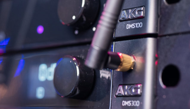 AKG Announces New DMS100 & DMS300 Digital Wireless Microphone/Instrument Systems