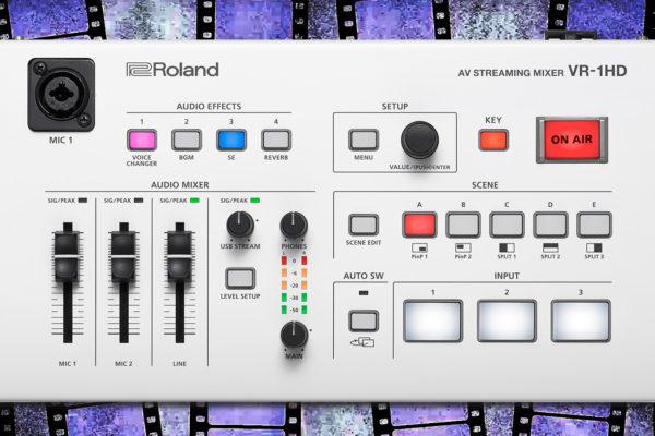 Roland Release VR-1HD AV Streaming Video Mixer