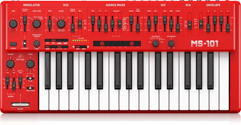 Berhinger MS-101 Synth Has Been Officially Released