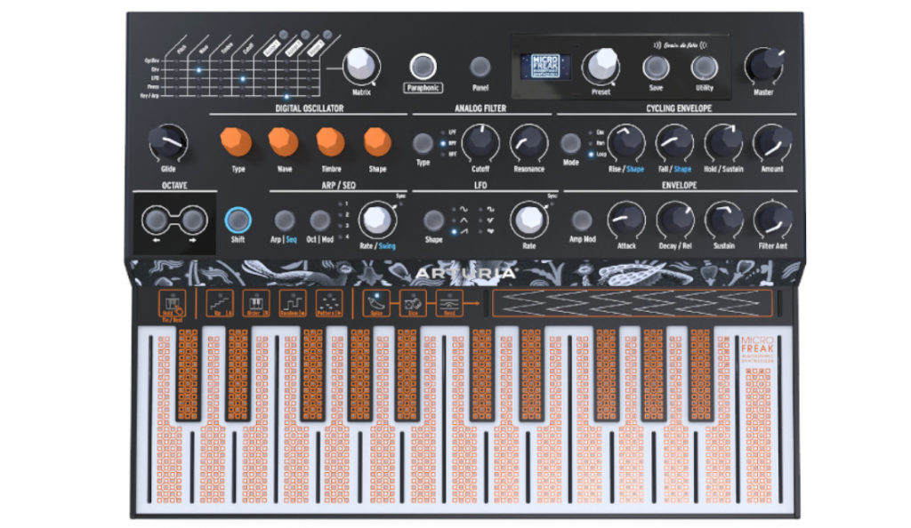 NAMM 2019: Arturia Announces MICROFREAK