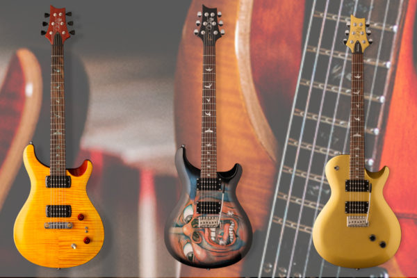Three New 2019 Paul Reed Smith SE Signature Guitars Unveiled
