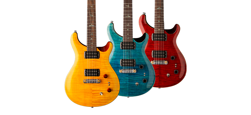 Three New 2019 Paul Reed Smith SE Signature Guitars Unveiled
