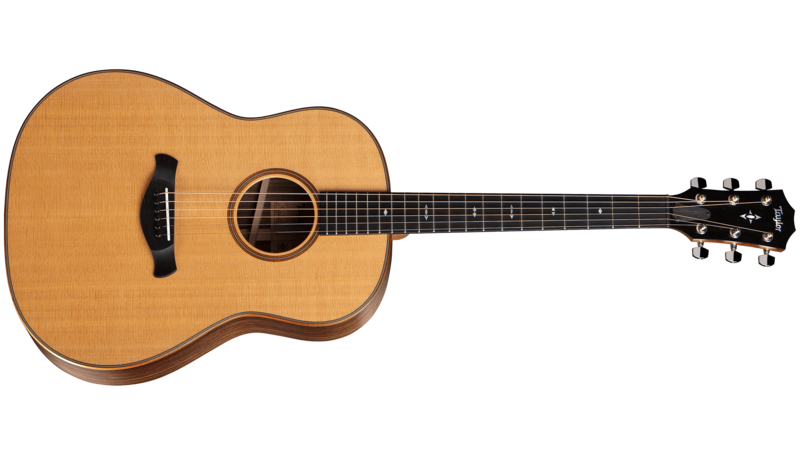 Taylor Unveils Grand Pacific Line of Round-Shoulder Dreadnought Acoustic Guitars