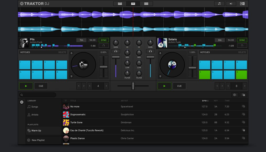 Native Instruments Long Awaited Traktor DJ 2 IOS App for Mac & PC Announced