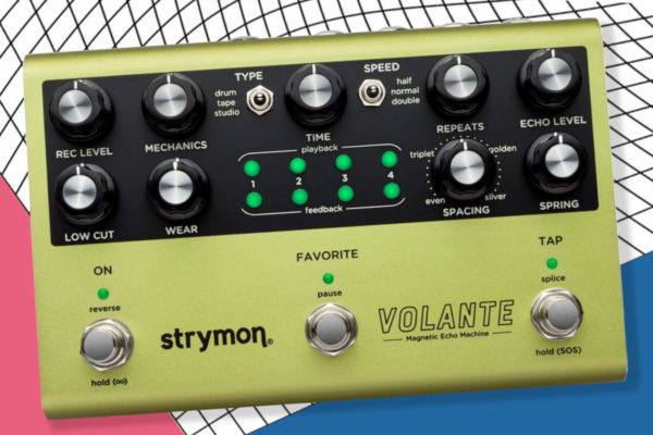 Strymon Unveils the Volante Magnetic Echo Machine