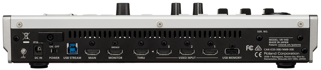 Roland Release VR-1HD AV Streaming Video Mixer