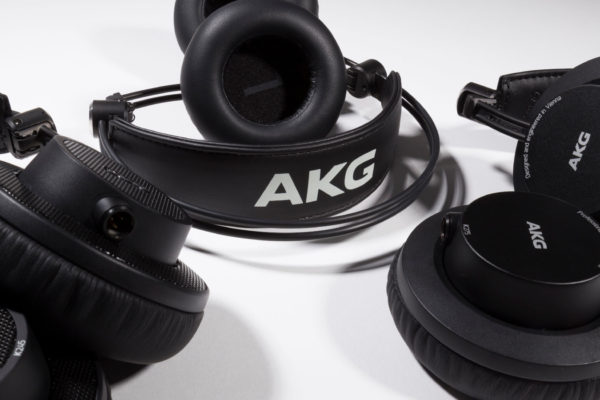 AKG: New K175, K245 & K275 Foldable Headphones
