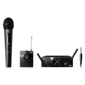 AKG WMS40 Mini Wireless Range Gets Expanded