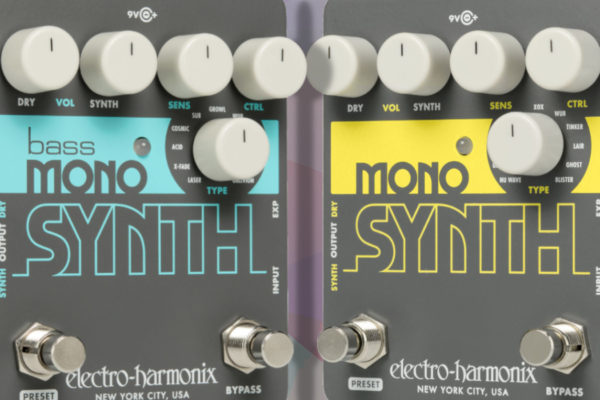 New Synth Pedals for Guitar & Bass from Electro-Harmonix