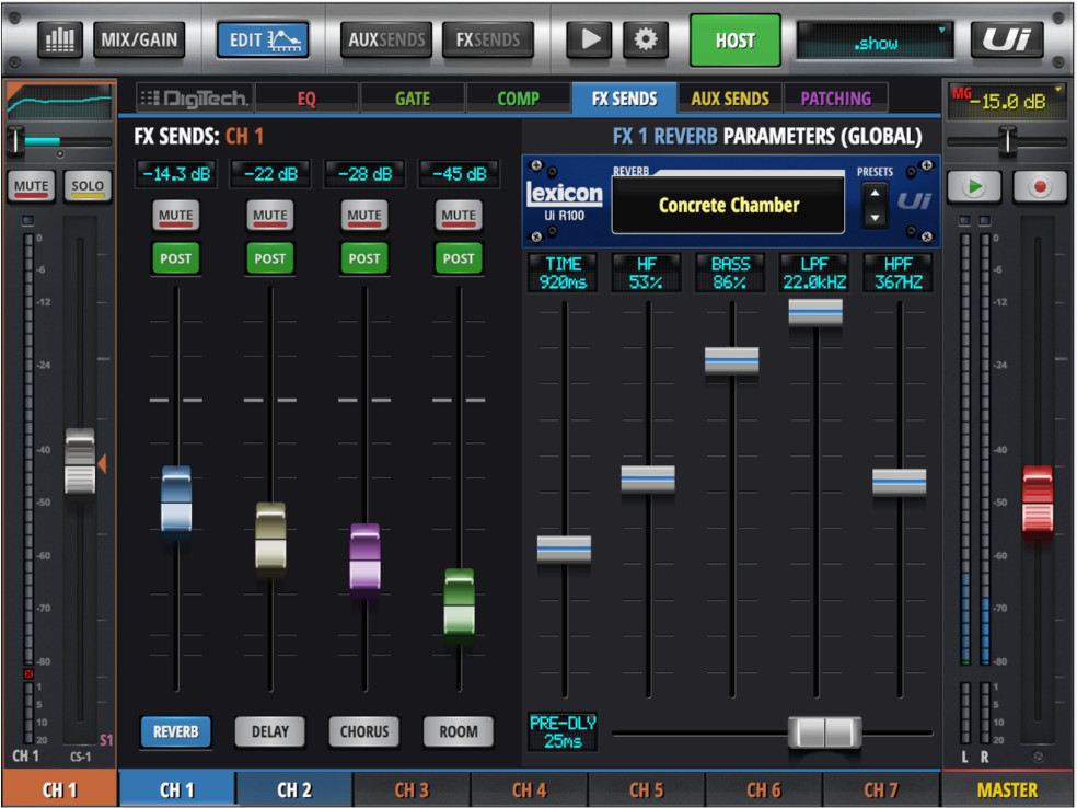 Our Guide to Using FX to Create Space for a Live Performance