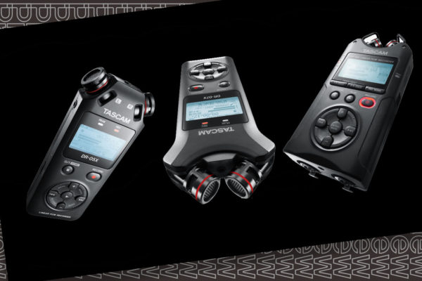 Tascam: DRX Handheld Recorders Overview