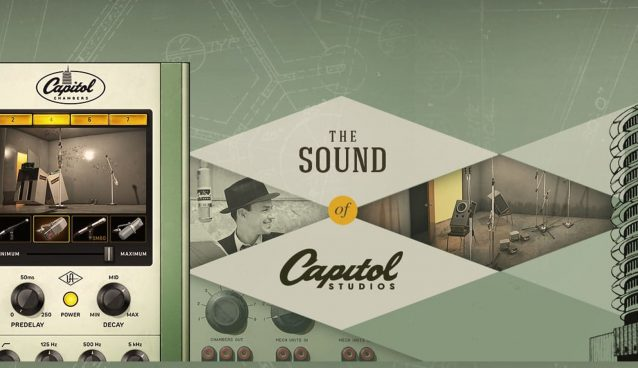 Universal Audio UAD v9.9 Update adds Capitol Chambers & Tube-Tech MKII Plug-Ins