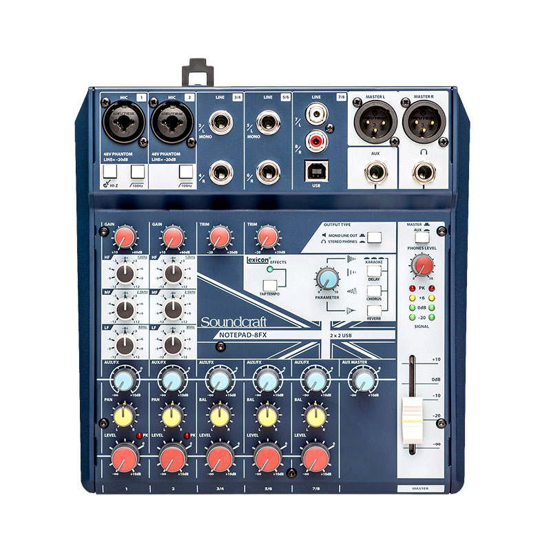 Pro Podcasting with Soundcraft Notepad Mixers