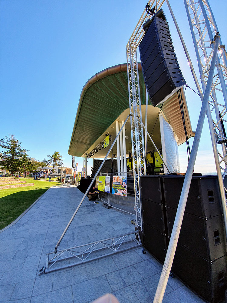 JBL A8 Line Array Lands in Capricornia