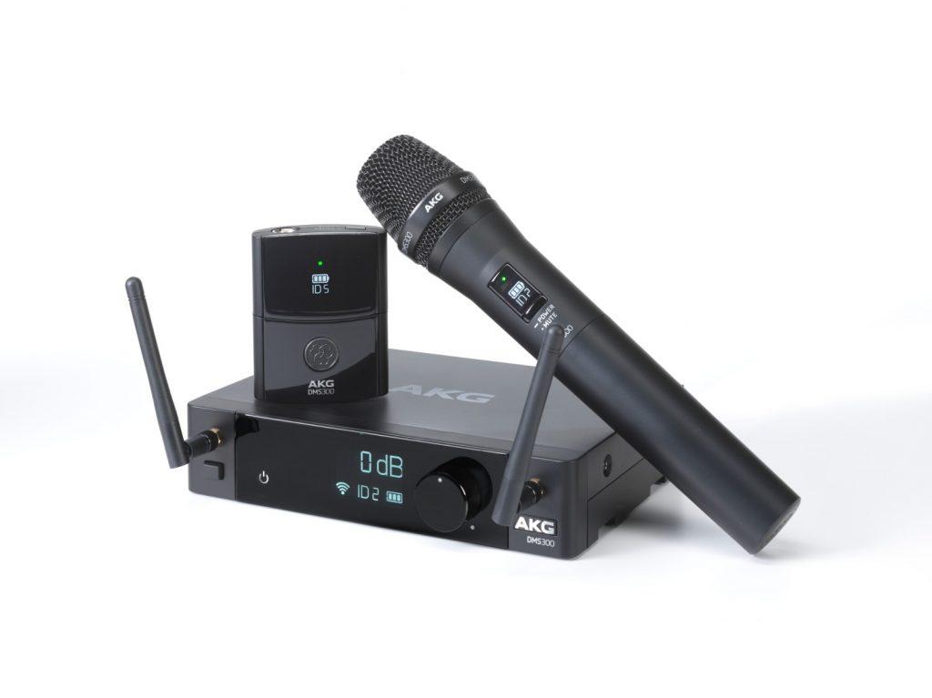 AKG DMS100-300 REview