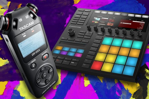 Office Beats with Tascam & Maschine