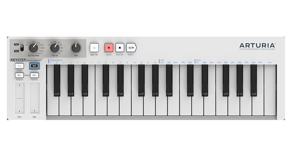 Arturia update the Keystep controller