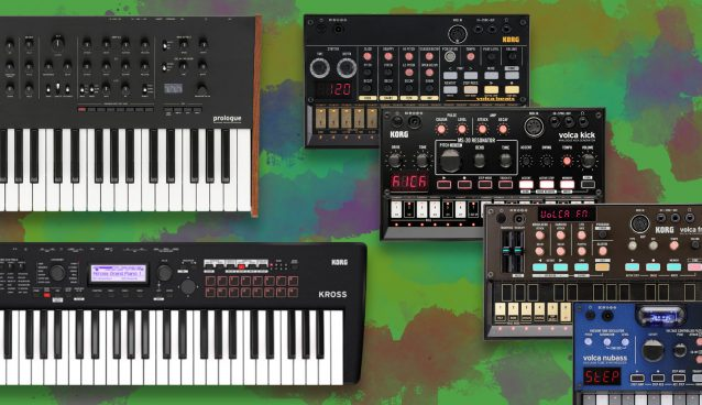 KORG releases major software updates to Prologue, KROSS2 and Volca series