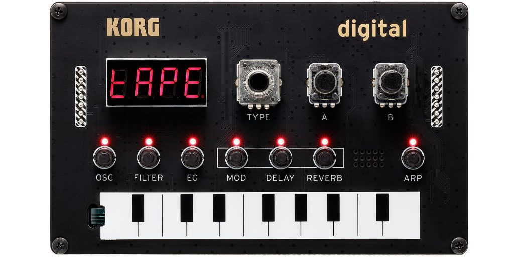 Korg Unveils the NTS-1, DIY Digital Synthesiser