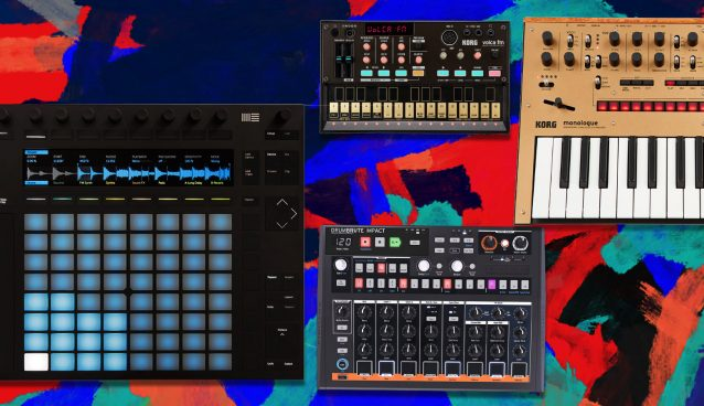 Just Sounds: Synth Jam with Ableton's Push Feature
