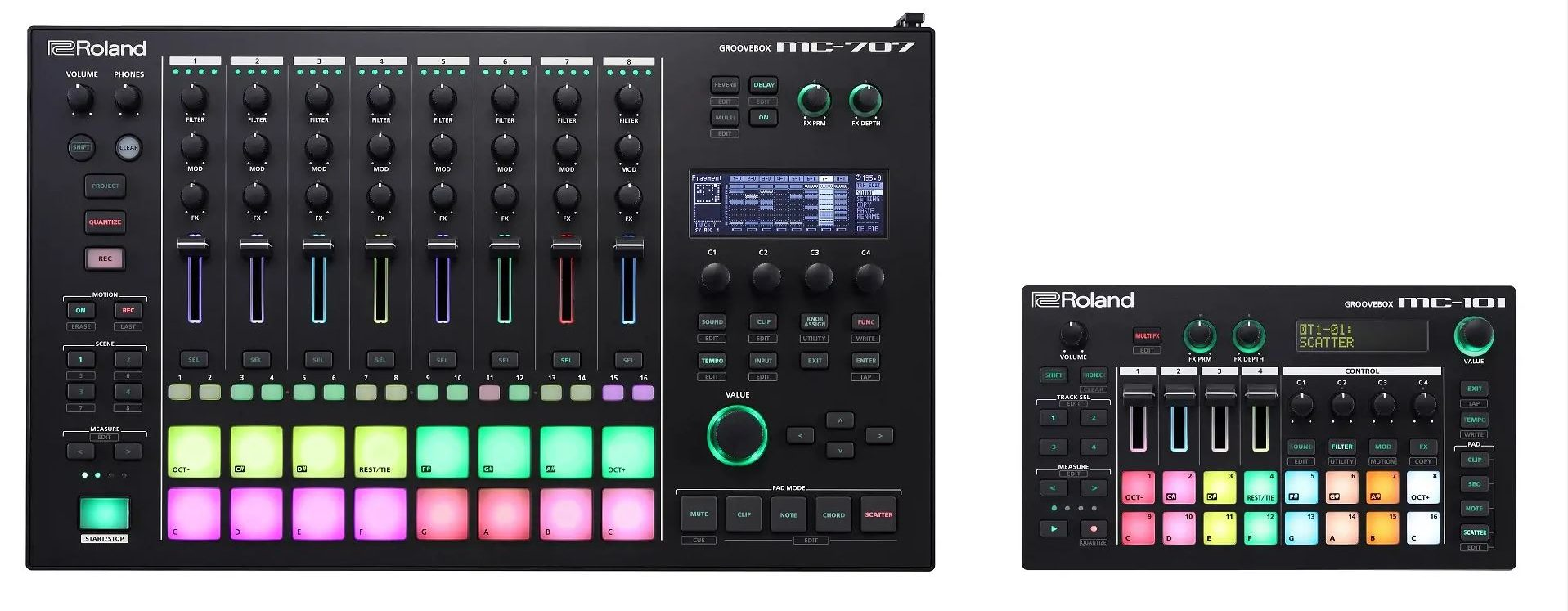 Roland Revive the Groovebox, Juno and Jupiter Names on New