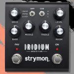 Strymon Releases their New Iridium Amp & IR Modeling Pedal