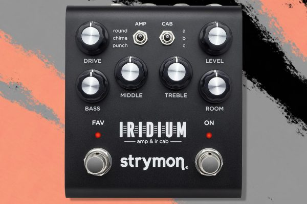 Strymon Releases their New Iridium Amp & IR Modeling Pedal