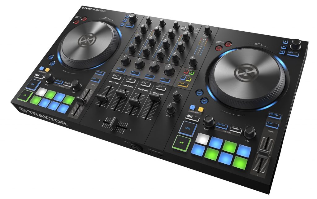 Do More with 4: NI Announce New 4 Channel DJ Controller – Traktor Kontrol S3