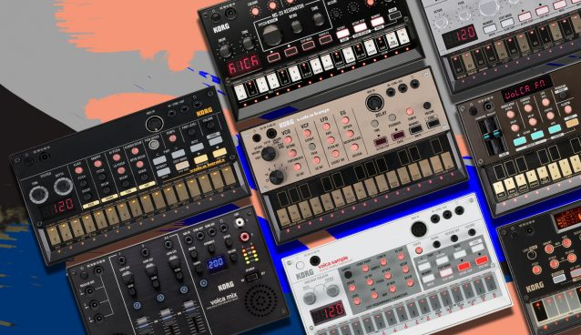 Just Sounds: KORG Volca Classic, Producer & Drum Packs