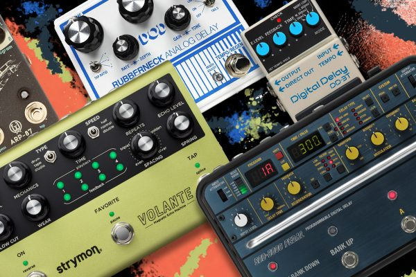 Favorite 5 Delay Pedals Feature