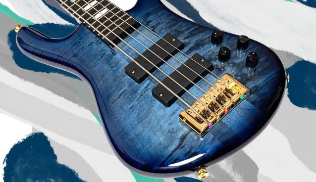 ' Spector Euro LT 5 string bass with Darkglass Electronics preamp'