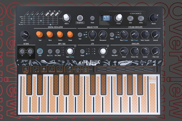 NEW FEATURES FOR MICROFREAK: ARTURIA RELEASE FIRMWARE UPDATE 2.0