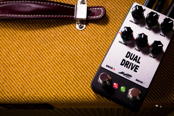 Magnetic Effects Dual Drive Combines Rat & Tubescreamer Tones