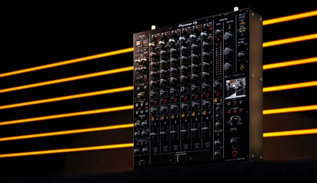 NAmm 2020: PIONEER's new djm-v10, 6 channel BEHEMOTH