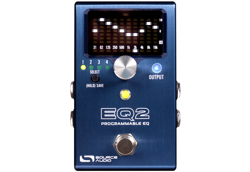 NAMM 2020: Source Audio Release EQ2 Programmable Equalizer Pedal suitable for Guitar, Bass & Synths