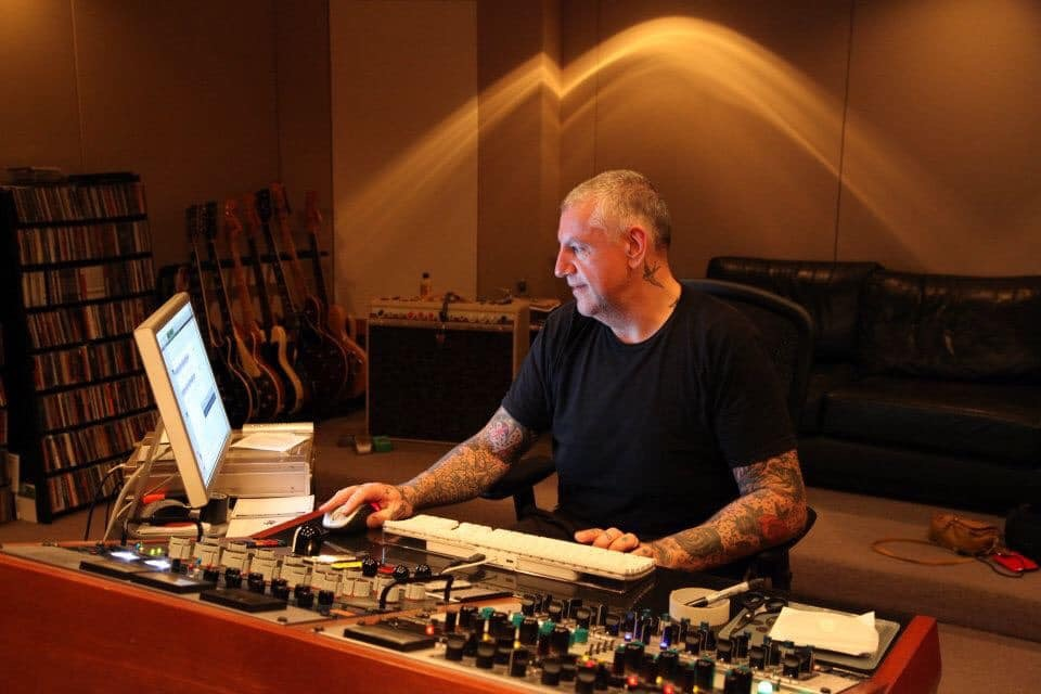 "In the Studio with Mastering Engineer Tony ""Jack the Bear"" Mantz"
