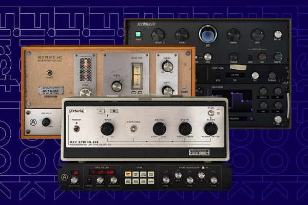First Look: Arturia's New FX Collection Bundle- Trio of New Reverb Plugins