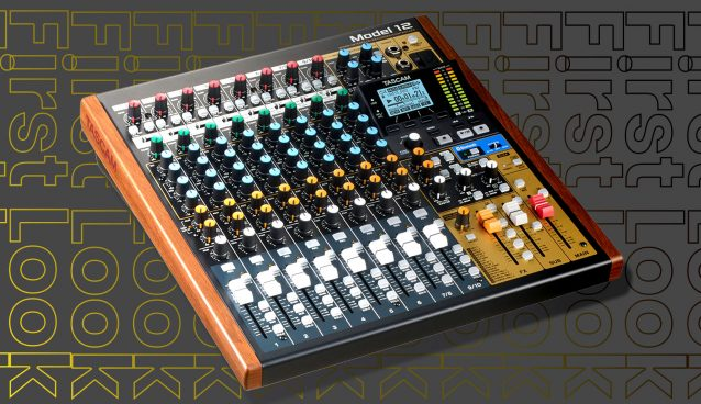 First Look: Tascam Model 12 - Mixer/Recorder/Interface