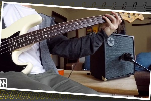 Just Sounds: Part 1-Blackstar Unity 30 Bass Amp Overdrive Channel