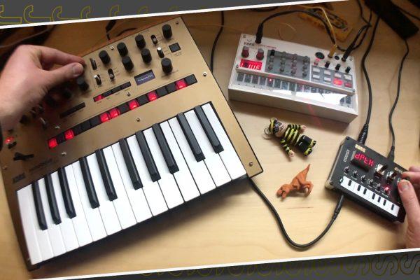 Just Sounds: KORG Monologue + NTS 1 + Volca Sample