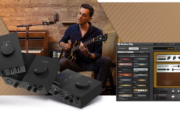 Native Instruments Free Guitar Rig Software with Komplete Audio Interfaces