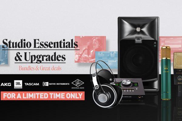 Studio Essentials and Upgrades