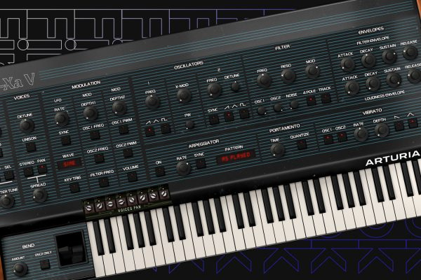 First Look: Arturia Oberheim OB-Xa V Software Synth