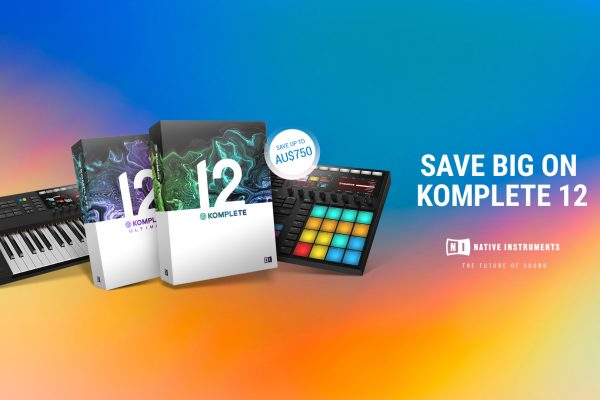 Save Big on Native Instruments' Komplete 12 Software