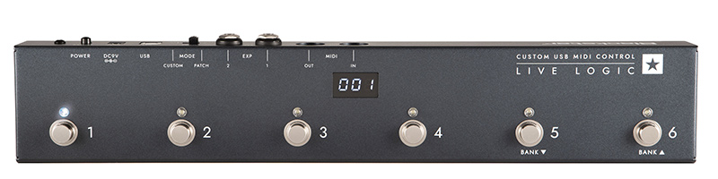 Blackstar's Live Logic Foot Controller