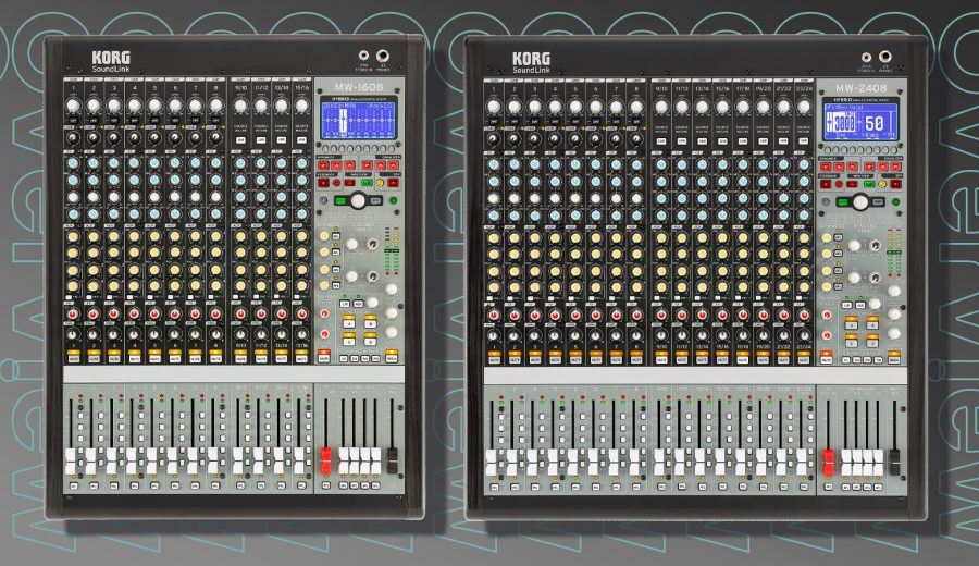 KORG MW Mixers Feature