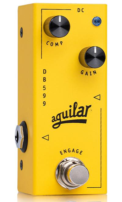 Aguilar DB 599 Micro Bass Compressor Pedal – Announced!