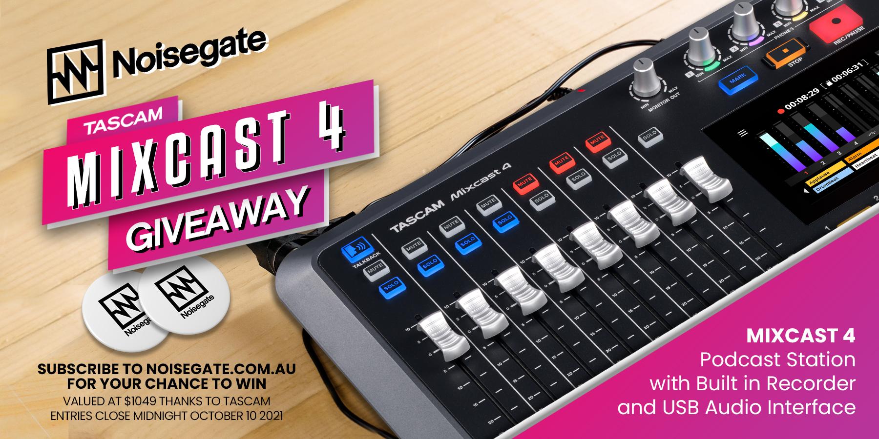 Mixcast 4 Giveaway